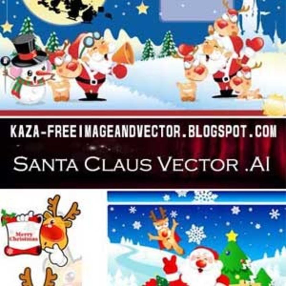 Santa Claus Free Vector