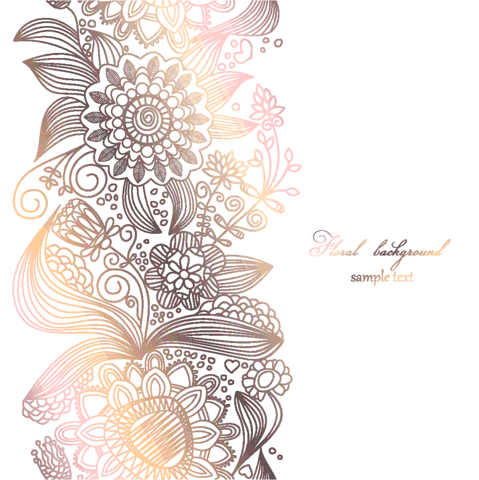 Light Floral Background