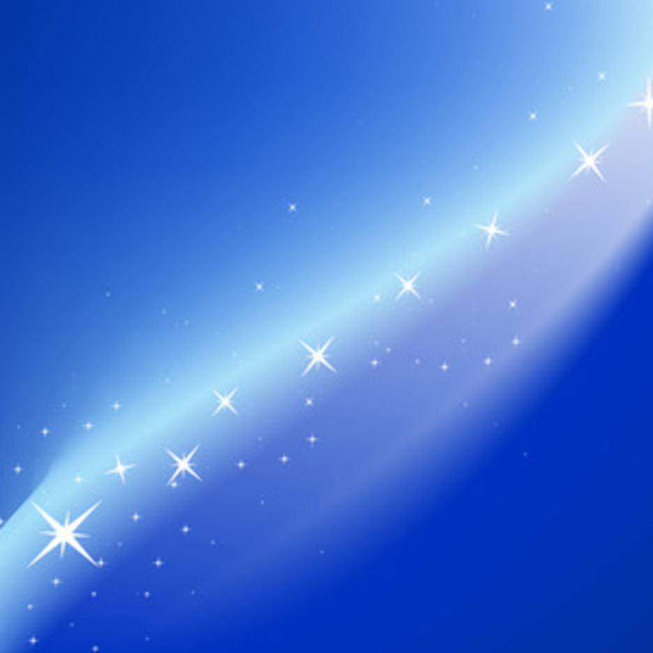 Blue Magic Vector Background