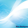 Blue Multi Lined Abstract Background