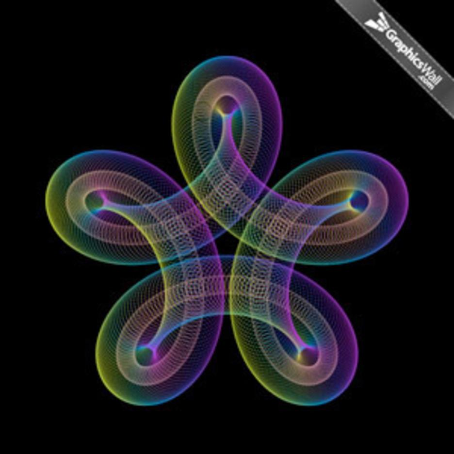 Spiro Graphic - Vector Art