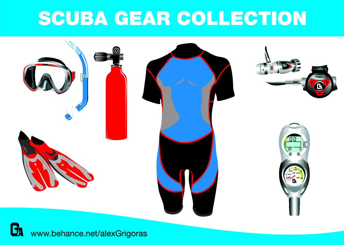 Scuba Gear Collection