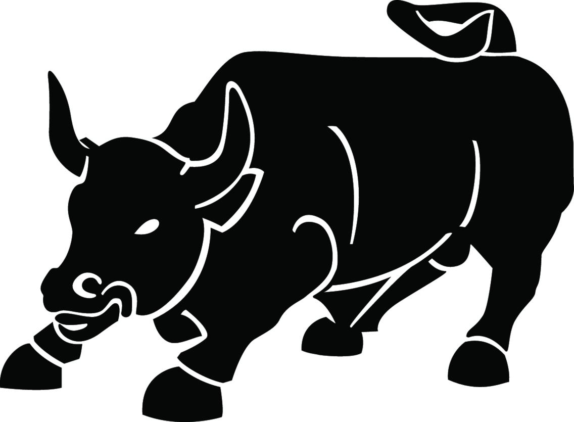 Black Bull Vector