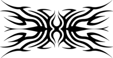 Tribal Tattoo Vector VP 1
