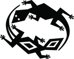 Lizards Game Vector