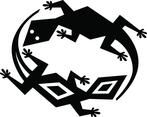Lizards Game Vector