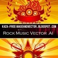 Rock Music Free Vector