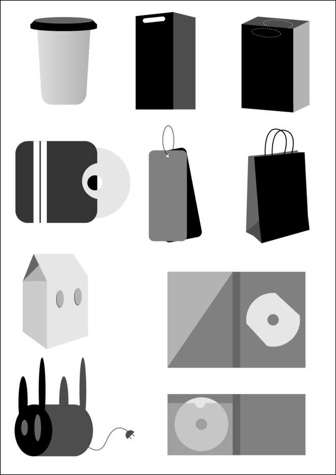 Vector Bags And Packages