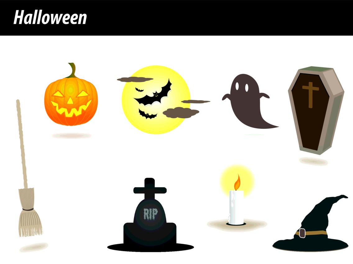 Halloween Vectors 1