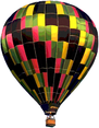 Vector Hot Air Baloons