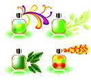 Free Vector Perfume Bottles