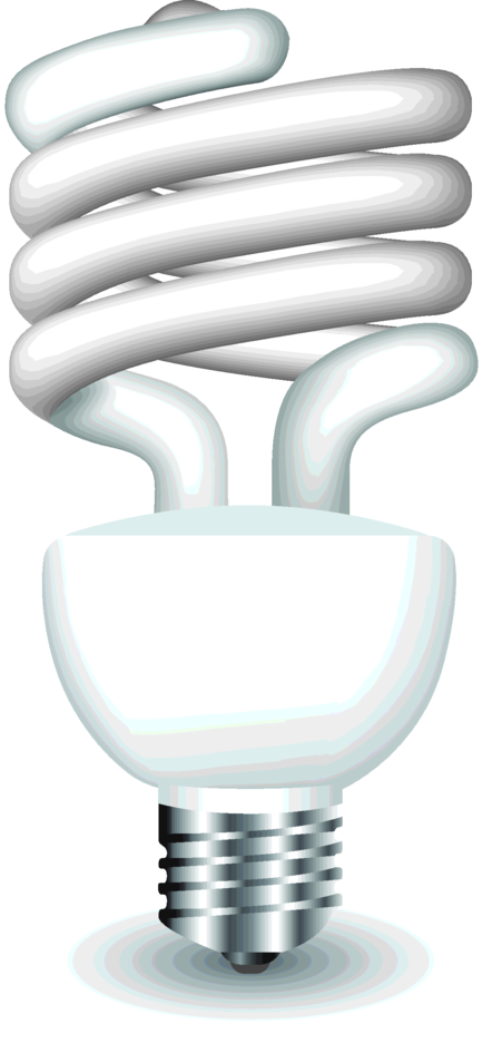 Vector Eco Lightbulb