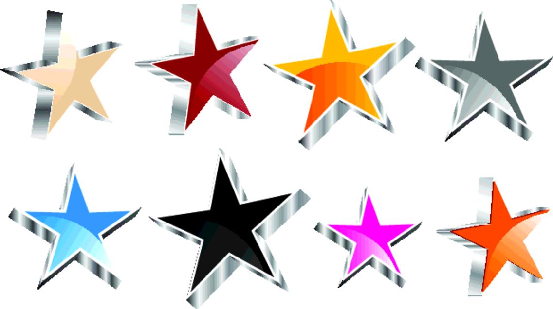 3D Vector Stars