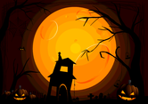 Halloween Background By VectorVaco.com