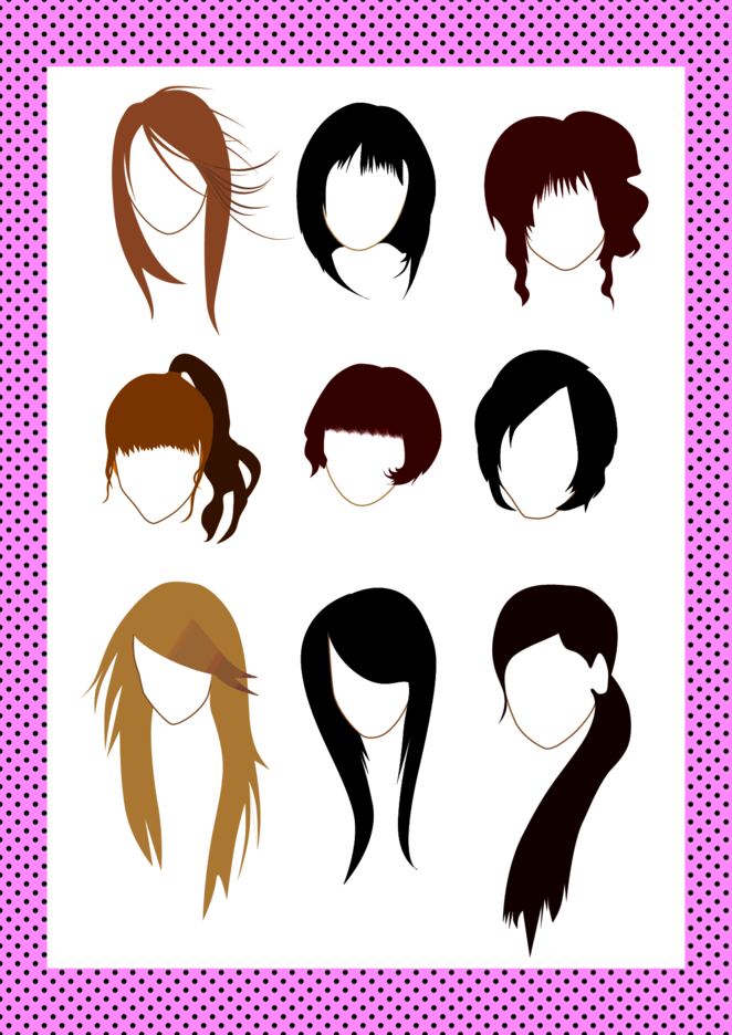 Vector Hairstyle