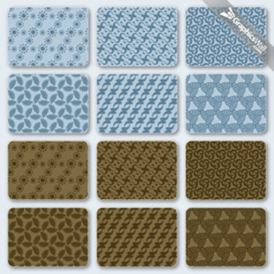 Free Seamless Vector Pattern Set