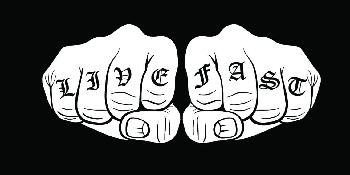 Knuckle Tattoo Vector