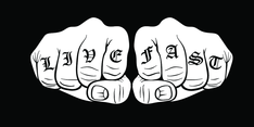 Knuckle Tattoo Vector