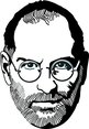 Steve Jobs Vector Portrait