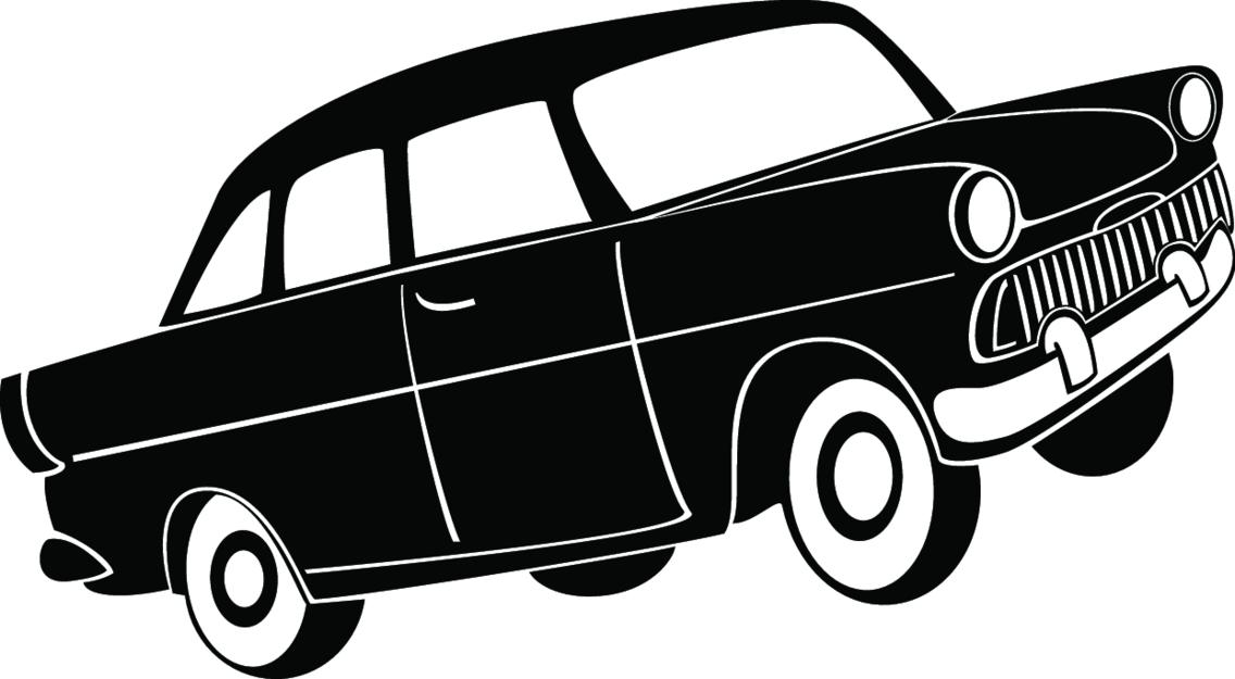 Retro Car Model Vector