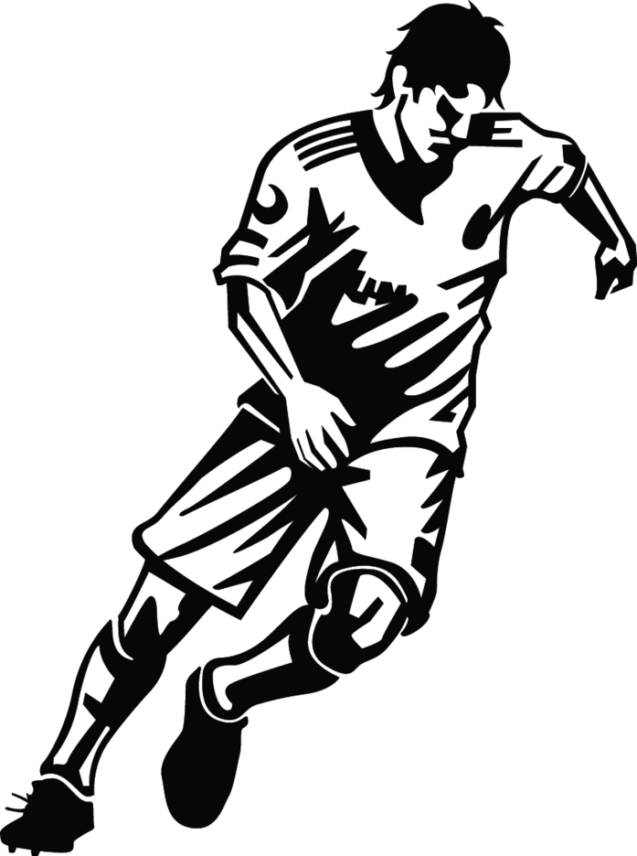 Soccer Player Free Vector