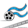 Free Video Film Reel Vector
