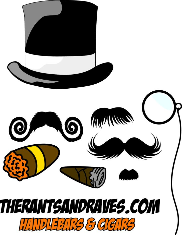 Handlebars & Cigars Mustache Pack