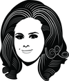 Adele Vector Portrait