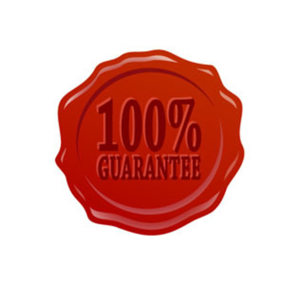100% Guarantee Badge