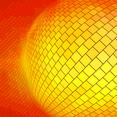 Orange Background With Many Squares