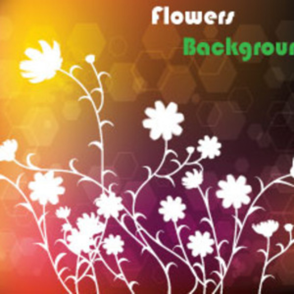 Darko Brown Floral Vector Art