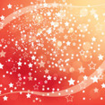 Orange Stars Abstract New Year Vector