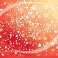Orange Stars Abstract New Year Vector