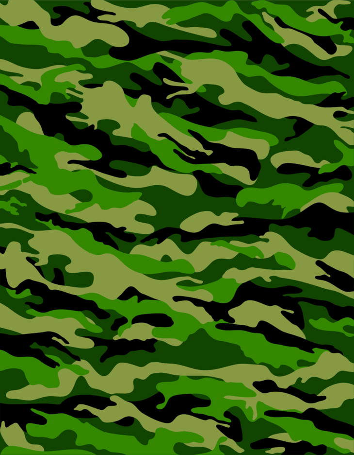 Forest Camouflage Pattern