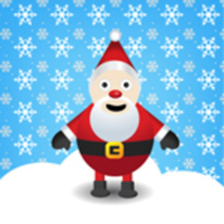 A FREE SANTA CLAUS VECTOR DESIGN