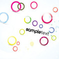 Colored Sample Circles Abstract Vector