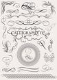 Caligraphy Design Elements