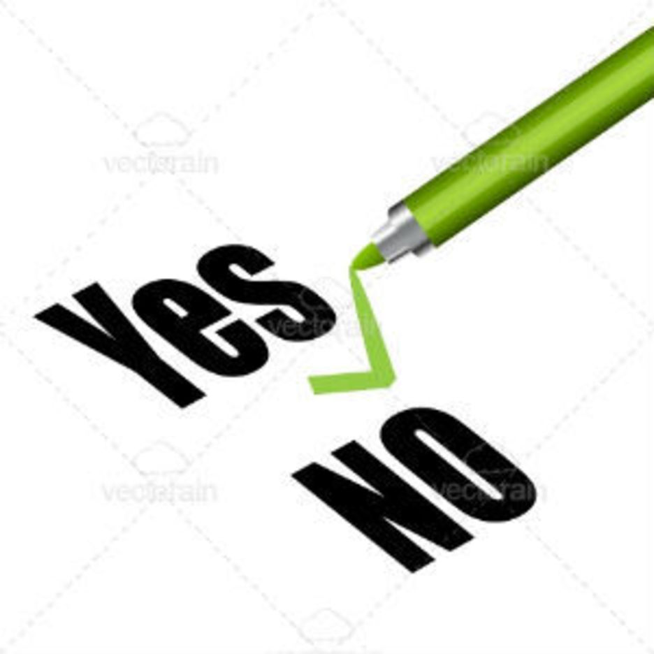 Yes And No Text