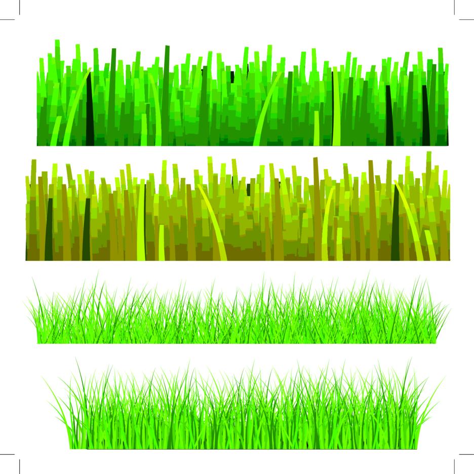 Four Grass Elements