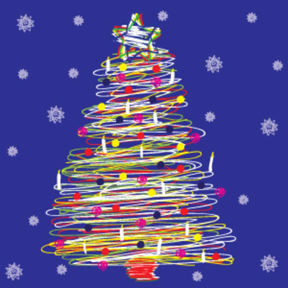 Spiral Christmas Tree 2012