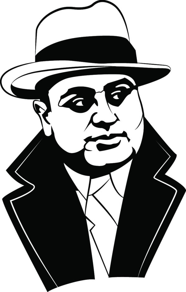 Al Capone Vector Image