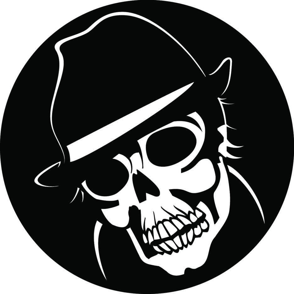 Agent Skull Vector