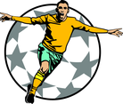 Goal Celebration Soccer Vector