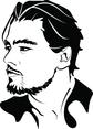 Leonardo DiCaprio Vector Portrait