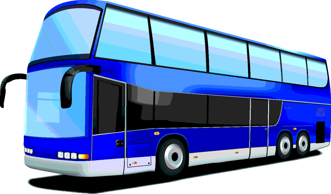 Double Decker Bus –Free Vector
