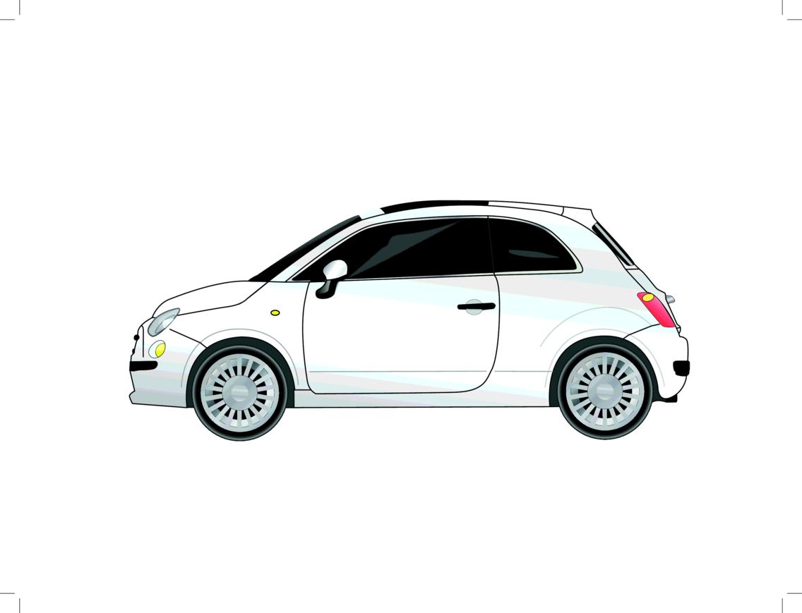 FREE VECTOR CAR –FIAT 500