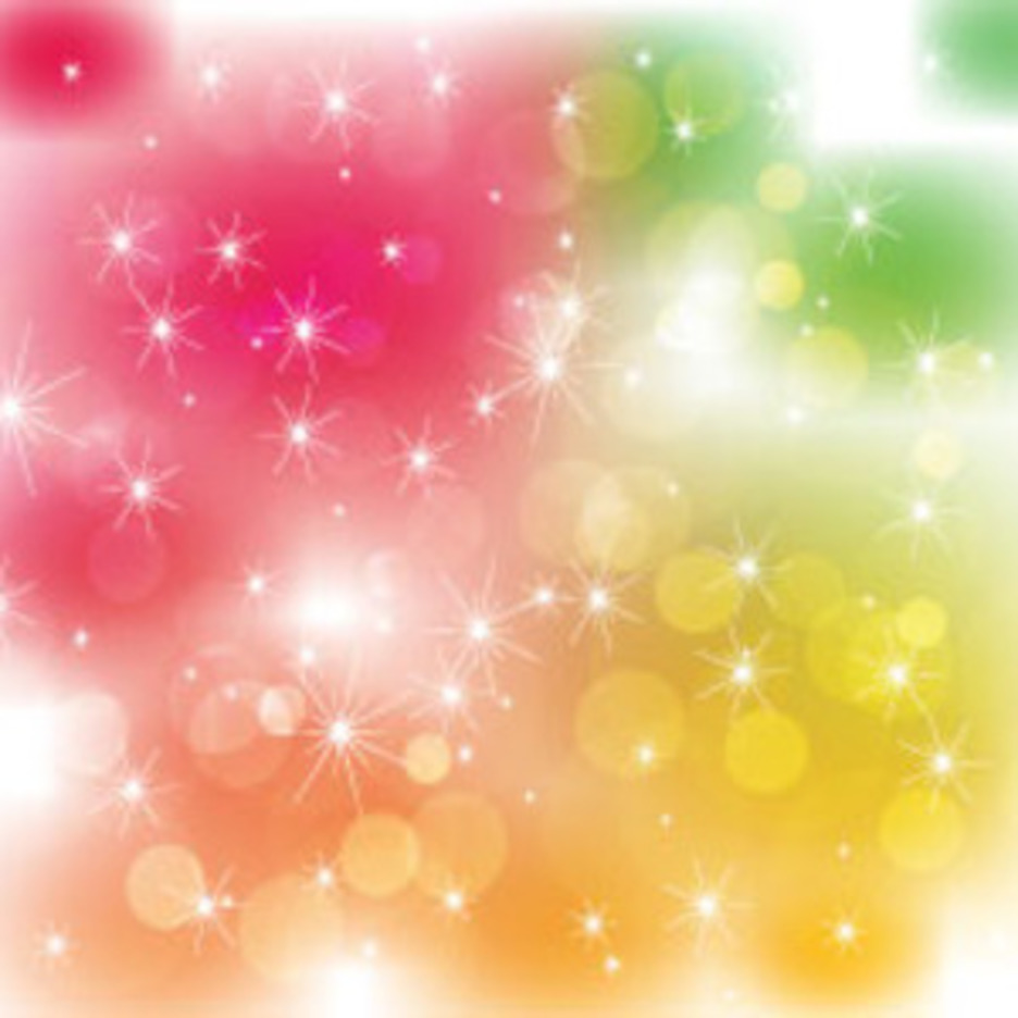 Colored Blur Vector Art Stars Free Design