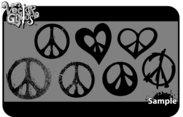 Free Peace Sign Vector Art