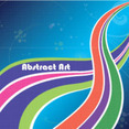 Abstract Colored Illustration Free Art