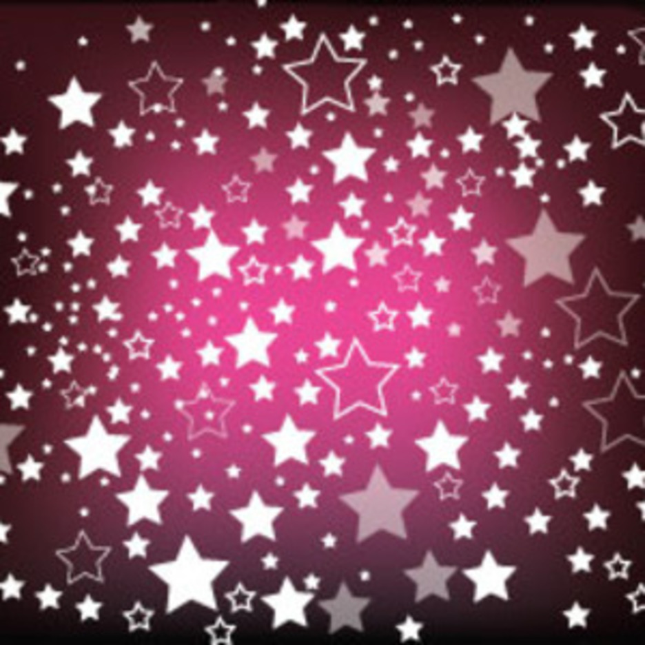 Dark Purple Background Starsy Vector